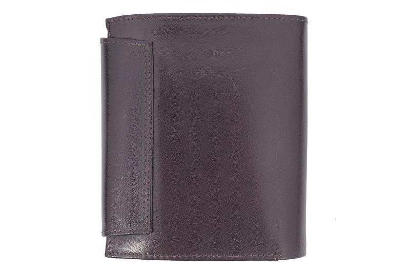 f3f8d7f095a94 Skórzany portfel damski Orsatti D01B w kolorze brązowym + drewniane ...