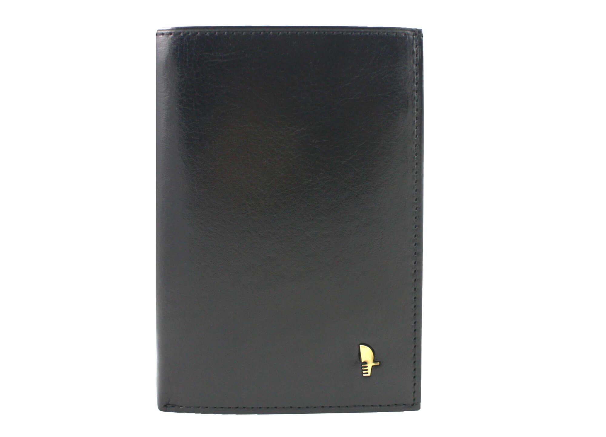 8f148fa898a95 Portfel męski Puccini MU-1696 w kolorze czarnym