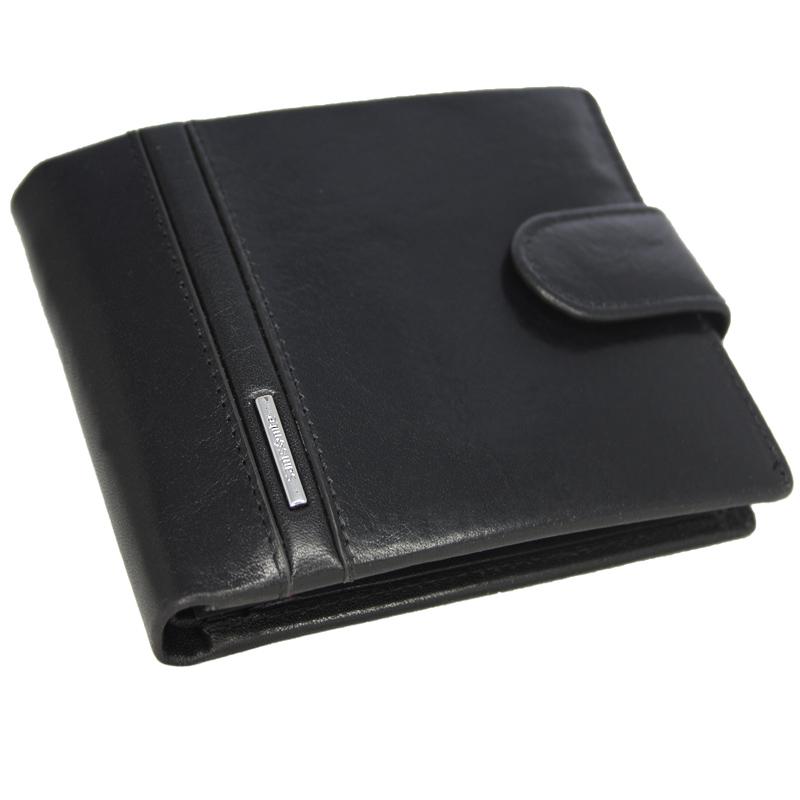 d29c11f0dd38f Skórzany elegancki portfel męski z zapięciem Samsonite Prestige
