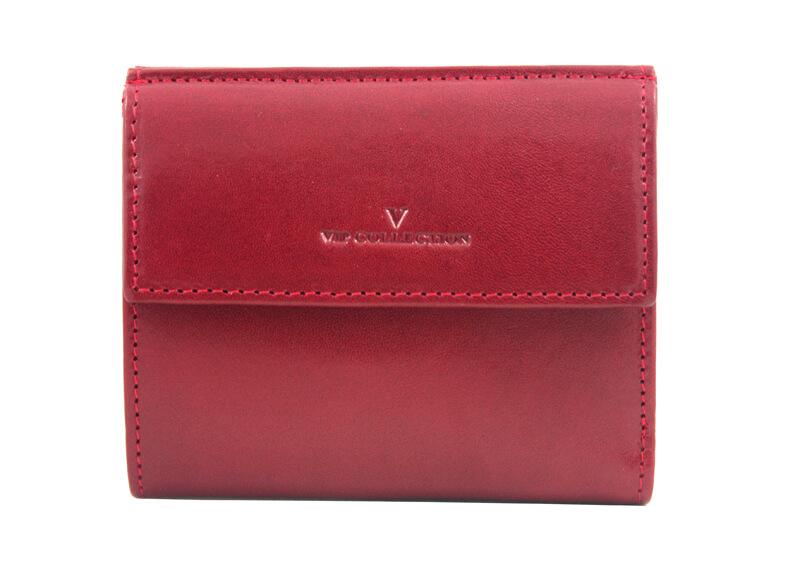 a6e18cd0ccc71 Mały, czerwony portfel VIP Collection