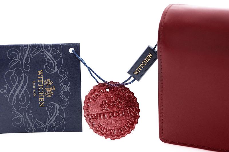 b9fa47c62642b Długi czerwony portfel Wittchen