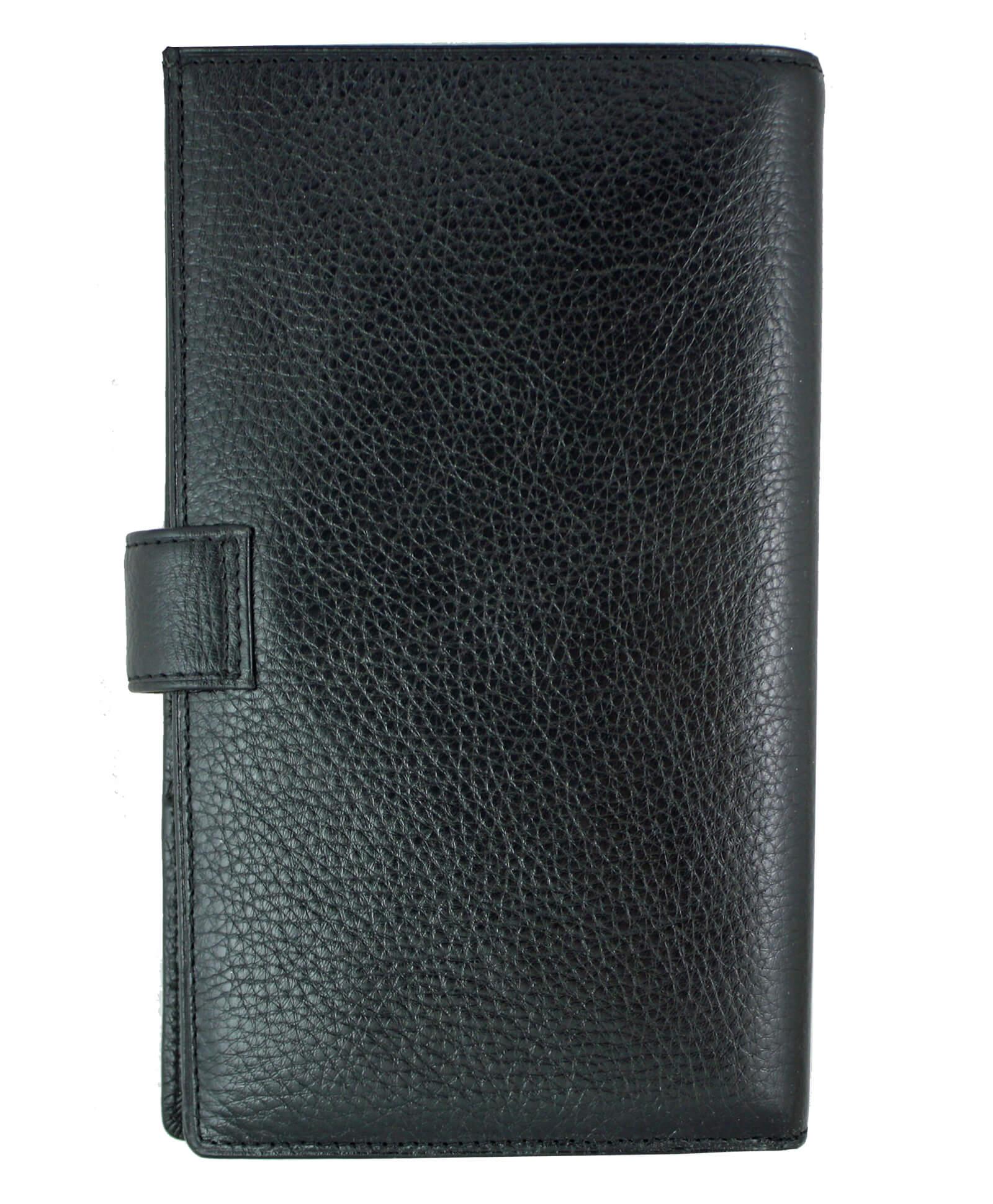 8a7d3f970b26d Bardzo duży portfel męski skórzany Wittchen 21-1-263, czarny