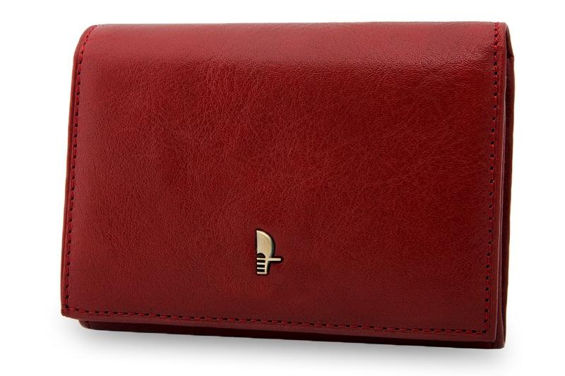 6b71d21988a7 Portfel damski Puccini MU-1709 w kolorze czerwonym