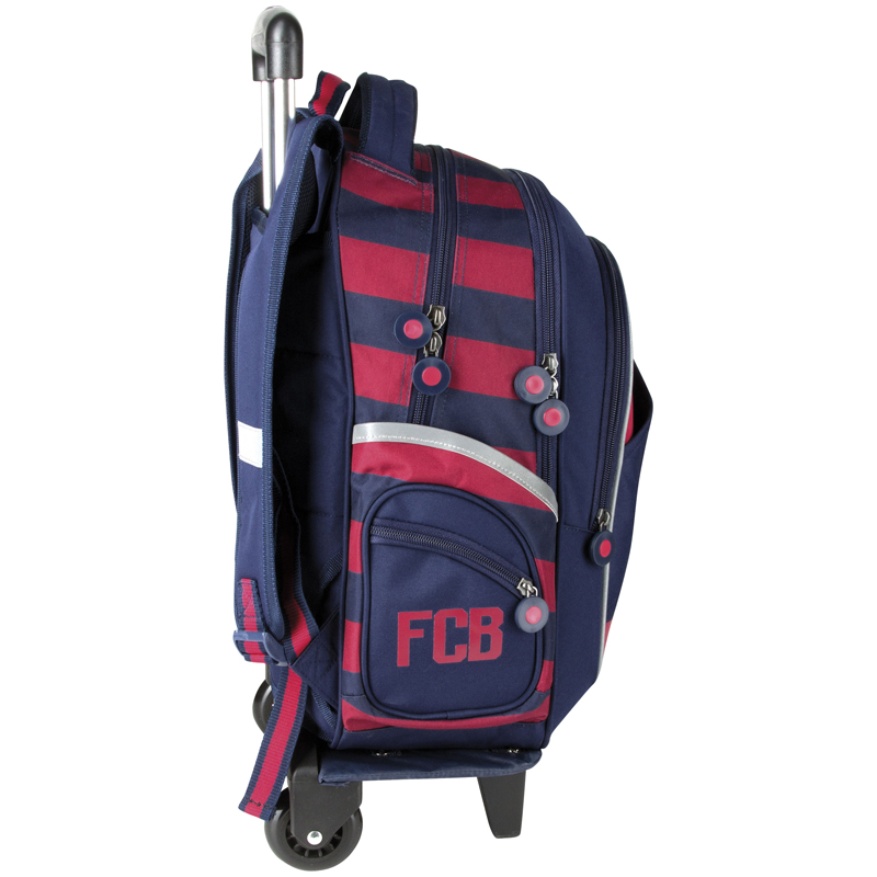 astra schultrolley 2in1 rucksack auf r dern schulrucksack sportlich fc barcelona ebay. Black Bedroom Furniture Sets. Home Design Ideas