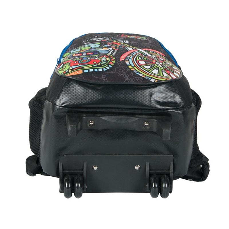 paso schultrolley rucksack auf r dern schulrucksack mit motor ebay. Black Bedroom Furniture Sets. Home Design Ideas