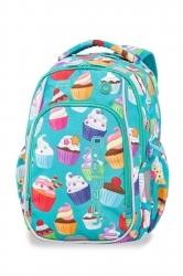 33c4967bc72a7 Świecący plecak szkolny CoolPack LED Strike S 19 L Cupcakes A18203 +  ładowarka