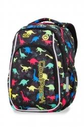 1fa8c6e27a7c7 Świecący plecak szkolny CoolPack LED Strike S 19 L Dinosaurs A18204 +  ładowarka