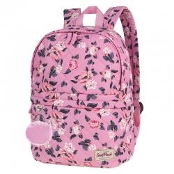 0f99f724efa3d Lekki pikowany plecak szkolny CoolPack Fanny 24 L, Rose Garden A102