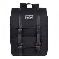 a474dce23864f Młodzieżowy plecak szkolny CoolPack Traffic 30 L, Black A132