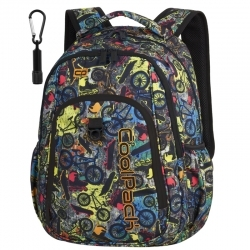 bcfa899dafad0 Dwukomorowy plecak szkolny CoolPack Strike 26L