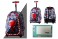 Plecak na kółkach Coolpack Jack LED ©MARVEL SPIDERMAN + Powerbank