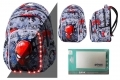 Plecak 26L Coolpack Spark L LED ©Marvel SPIDERMAN + Powerbank