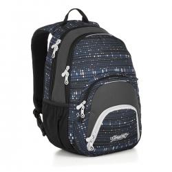 0bd09b61f15e8 Dwukomorowy plecak młodzieżowy Topgal SIAN 18030