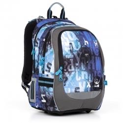 6db13b7989a7f Plecak dwukomorowy dla chłopca Topgal CHI 872