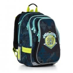 f171e08a6f134 Trzykomorowy plecak szkolny Topgal Chi 878