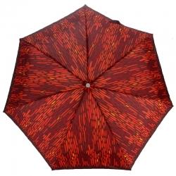 e587d288936d0 Krótka, lekka automatyczna parasolka damska marki Parasol, czerwona w plamki