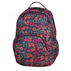 5d8c65edde05e Dwukomorowy plecak szkolny CoolPack Smash 26L, Floral Dream 909