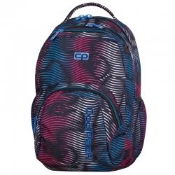 5dd4aec2e6992 Dwukomorowy plecak szkolny CoolPack Smash 26L, Flashing Lava 944