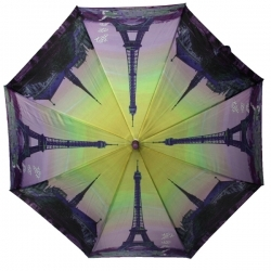 10b39b1663142 Automatyczna długa damska parasolka Paryż - Wieża Eiffla