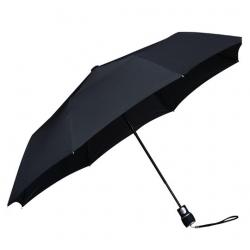 86fda62961266 Automatyczna składana klasyczna parasolka szara, otwierana jednym ...